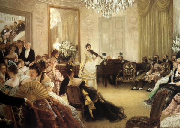 Hush! (The Concert) by James Tissot, 1875