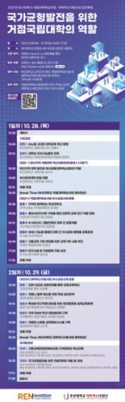 부산대, 국립대학육성사업·대학혁신지원사업 성과포럼 개최